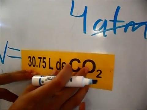 reacción de obtención de dióxido de carbono. ENMSI