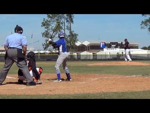 Paul Genners triple against Orange Park high school