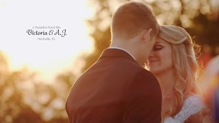 The Ledges Wedding in Huntsville // Victoria & AJ