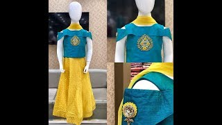 Latest Party Wear gowns for kids 2018 | latest Anarkali gowns for baby girls 2018