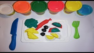 Play Doh With Preparing Breakfast Kids Learn Color for Kids children songs
