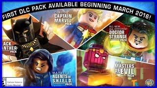 LEGO MARVEL AVENGERS - DLC SEASON PASS! DOCTOR STRANGE! CAPTAIN MARVEL!