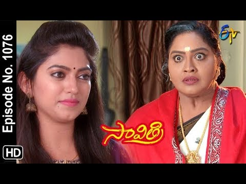 Savithri | 11th September 2018 | Full Episode No 1076 | ETV Telugu