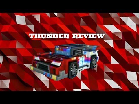 Thunder Car Review!! Block City Wars