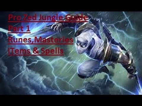 s9 Middle Zed build guides, counters, guide, pro builds ...