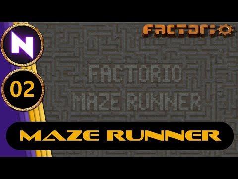 Factorio Maze Runner 2 PREPARING DEFENSES
