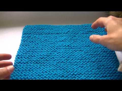 Как вязать платочной вязкой по кругу спицами,чтобы  переход между рядами был плавным и незаметным.