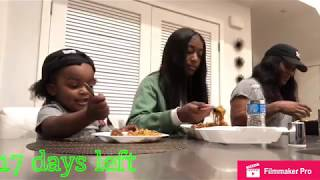 BABY WOOWOP BIRTHDAY PLANS | MUKBANG