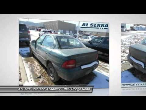 1999 Dodge Neon Colorado Springs CO 7456B