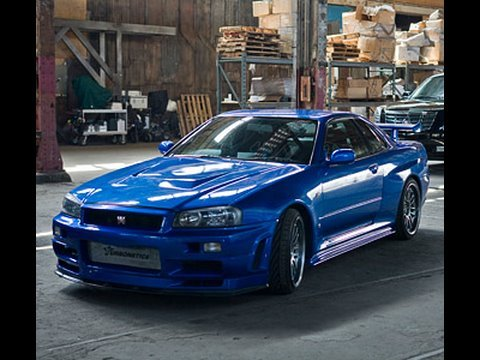 Fast and Furious - 1998 Nissan Skyline GTR - Muscle vs. Import Video
