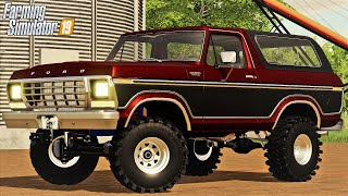 WE BOUGHT A 1978 FORD BRONCO (ROLEPLAY) FARMING SIMULATOR 19