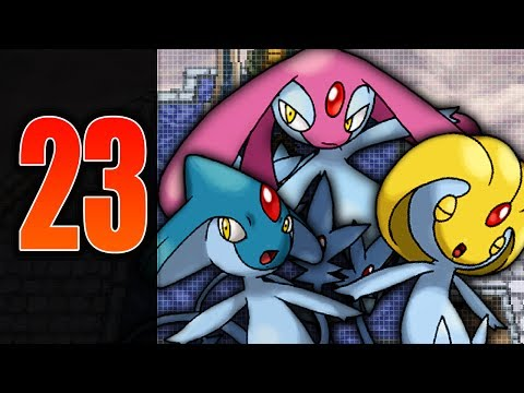 Pokemon White 2 - Part 23 - Catching Uxie,Mespirit & Azelf