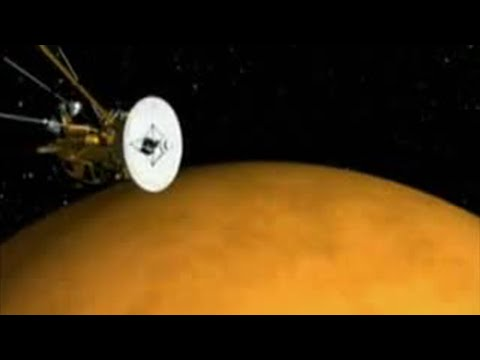 Scientists research surface of the Titan moon - BBC