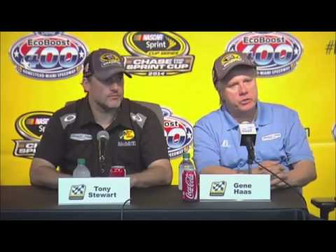 Kevin Harvick 2014 Sprint Cup Champion NASCAR Video News Conference