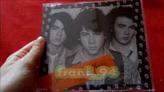 Jonas Brothers selftitled album cd singles! UNBOXING!