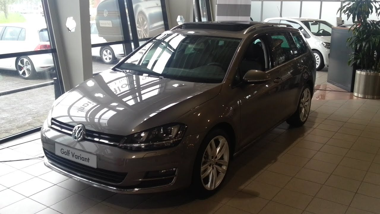 Volkswagen Golf VII 7 Variant 2015 In depth review Interior Exterior - YouTube