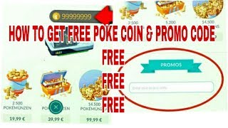 HOW TO GET POKE COIN & PROMO CODE IN POKEMON GO 2018