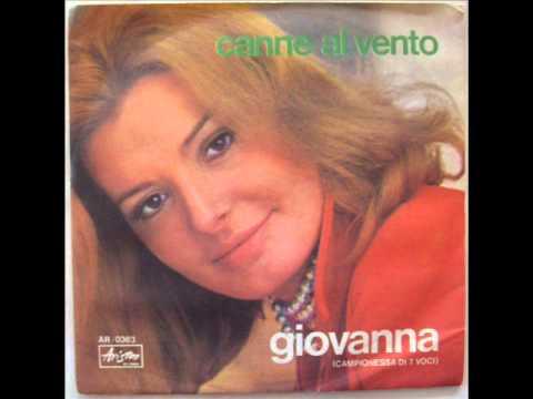 GIOVANNA    CANNE AL VENTO      1970