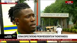 SONA 2019 expectations from Thohoyandou residents