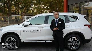 Xe Santafe 2019, khám phá tính năng và cách sử dụng xe.Hotline bán hàng 0902 893 879