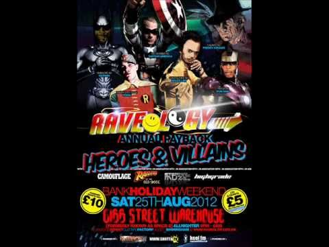 RAVEOLOGY -   HEROES & VILLAINS - RADIO ADVERT