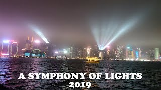 A Symphony of Lights 2019 Worlds Popular Laser Show Around Victoria Harbour Hong Kong