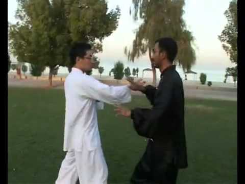 Kung Fu Kuwait_ Tui Shou (Push Hands) Demonstration Image 1
