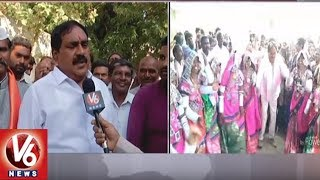 Face To Face With Palakurthy TRS Candidate Errabelli Dayakar Rao Over Election Campaign