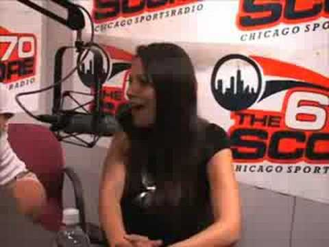 Laurie Fetter and Pilar Lastra with 670 The Score Part 2 Video
