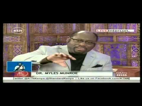 Dr Myles Munroe Speaks Of Death On The Jeff Koinange Live Show video