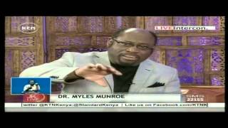Dr Myles Munroe speaks of death on the Jeff Koinange Live Show