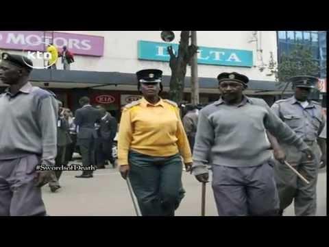 Swords Of Death: Nairobi County Askaris Stab More Than 12 Hawkers Around Ngara Estate video