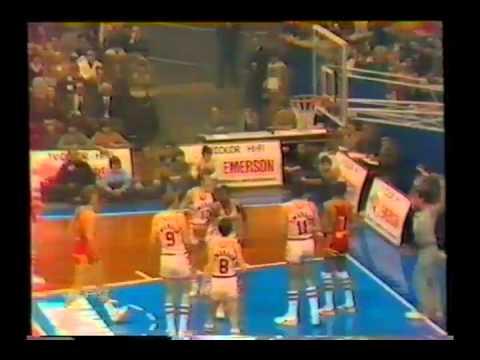 Emerson Varese vs Gabetti Cantù (Finale Coppa Coppe 1980)