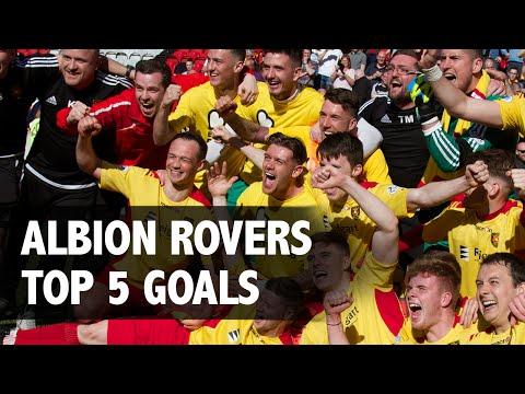 Top 5 Albion Rovers Goals