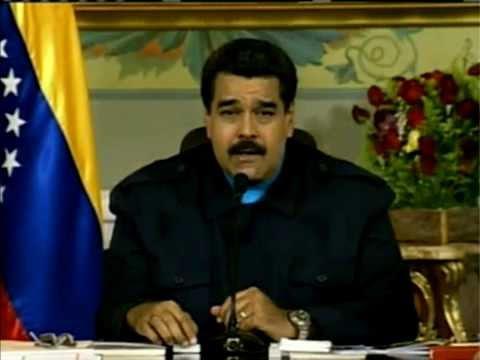 Nicolás Maduro le responde a Obama  Venezuela, 9 de marzo, 2015 090315