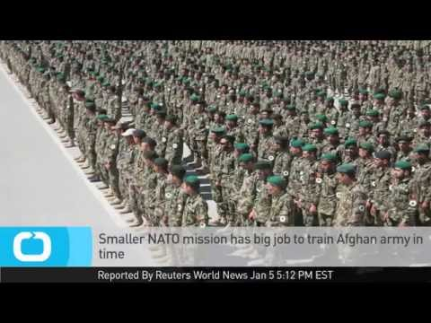 Ghani Queries Troop Exit Deadline; Smaller NATO Mission Has Big Job to Train Afghan Army in Time
