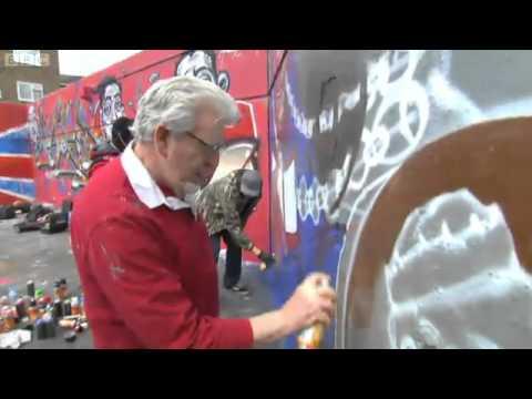 Rolf Harris Paints The Diamond Jubilee