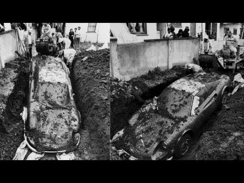 Mystery Of The Buried Ferrari Dino Solved -- JALOPNIK ON DRIVE