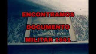 Casa Abandonada Con Documentos Militares de 1941