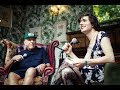 John Cale and Ezra Furman in conversation at End Of The Road Festival