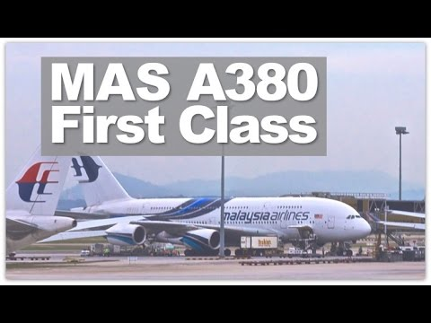 Malaysia Airlines First Class A380