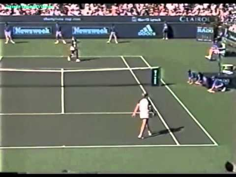 Serena Williams vs Steffi Graf 1999 Indian Wells Highlights