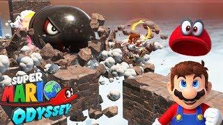 ESTO SE EMPEZÓ A COMPLICAR !! - LADO OCULTO DE LA LUNA | Super Mario Odyssey #14 |  ZetaSSJ
