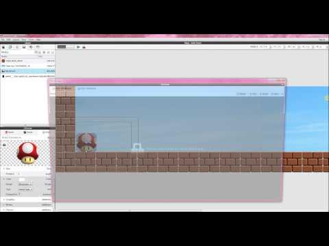 Gamesalad simple platform game  (windows)