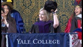Hillary Rodham Clinton, 2018 Yale Class Day Speaker