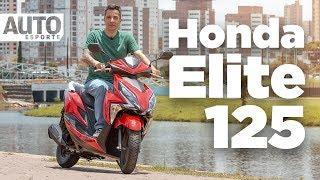 Vídeo: Honda Elite 125 substitui a Lead 110 e se posiciona um andar abaixo do scooter PCX