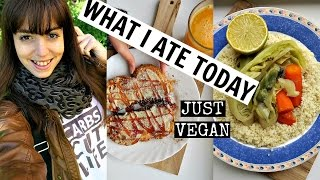 What I Ate Today | Just Vegan
