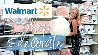 WALMART WOWS! 😱💙 Shop, Haul & Decorate with me!