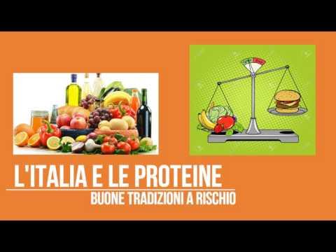 Le proteine nella dieta