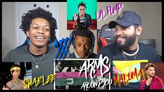 Xxxtentacion Lil Pump Ft Maluma Swae Lee Arms Around You Official Audio Fvo Reaction